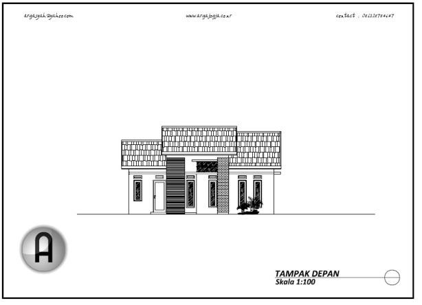 Image Result For Desain Rumah Dengan Autocad